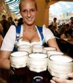 Oktoberfest Beer & Girls