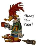Woody's New Years Greetings