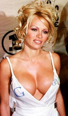 Pamela Anderson Advertises Google Image