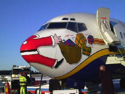 Santa Claus's Accident Image