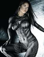 Spider Girl bodypaint