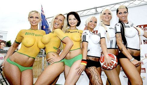 World Cup 2010 Re-Match Germany vs Australia Image